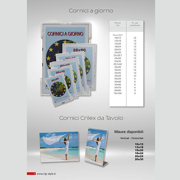 Misure Delle Cornici A Giorno.Le Nostre Cornici Vip Style Cornici Padova